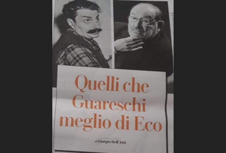 E Guareschi batte Umberto Eco. In trasferta
