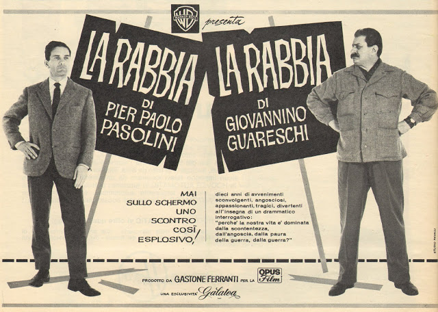 La Rabbia di Pasolini e Guareschi: un'idea per Parma 2021-23